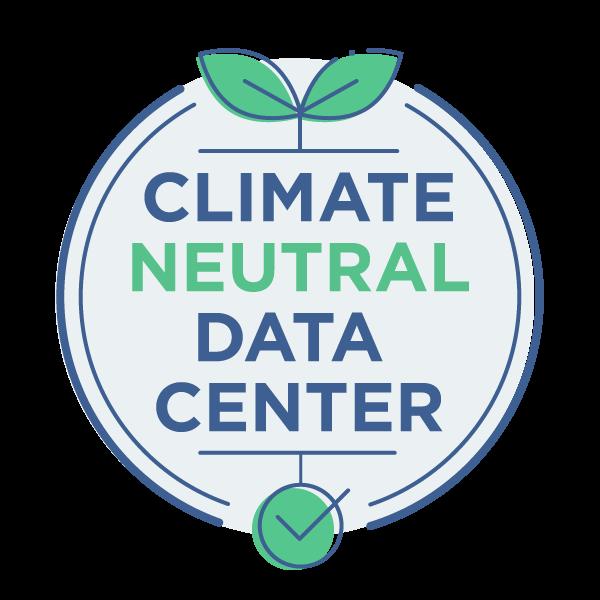 Climate Neutral Data Centre Pact logo