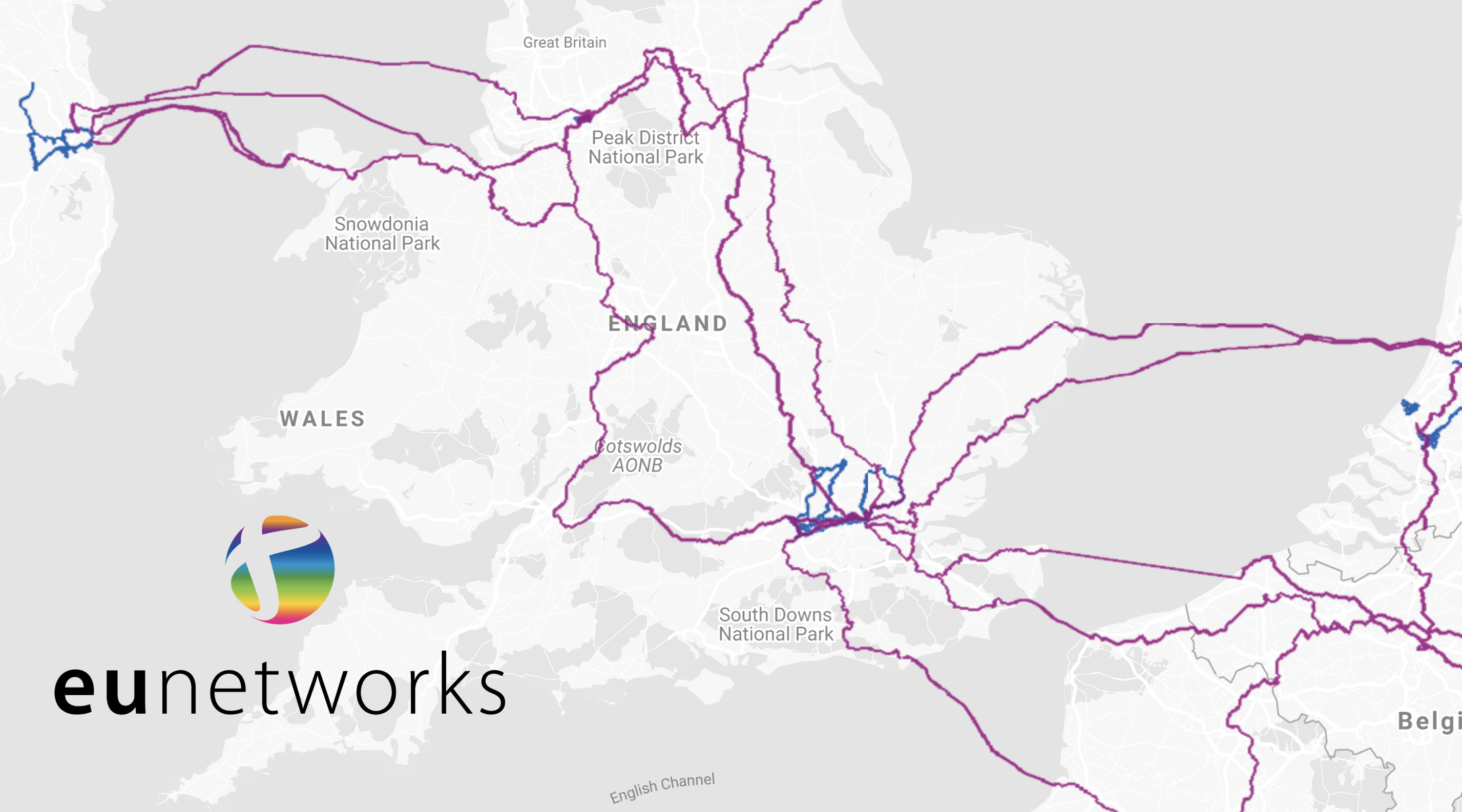 eunetworks connectivity map